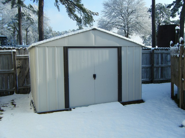 A tail made shed for one of our customers