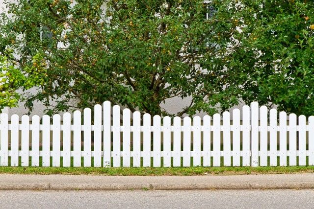 A domestic fence